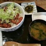四季味 茜 - 純レバ丼