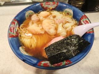 たんたん亭 - ミックスワンタン麺