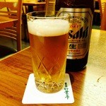 51124018 - 鰻にはビールでしょ(笑)
