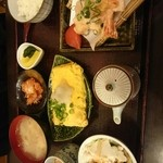 匠 - 料理写真:エビマヨ定食(だし巻き玉子)