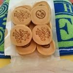 つるや製菓 - 10個@380円 サイズ&お値段、お茶うけにちょうどいい