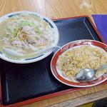 チャンポン福龍 - チャンポンセット¥1000
