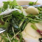 レストラン イデオ - たっぷりの野菜が特徴