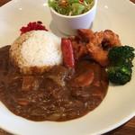 アサヒヤ - curryプレート  850円