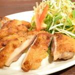 *鶏モモ肉のレ・クアン・ブー~ヌクマムソテー~