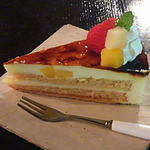 51130541 - Cafe 住留『りんごのケーキ』 520円