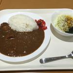 くっちぃーな - 代表カレー(辛口)¥500☆