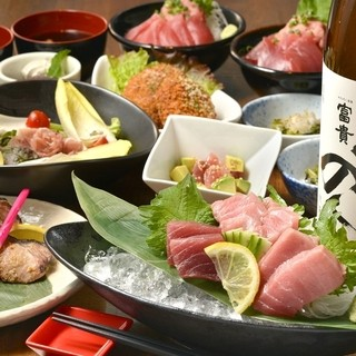 新鮮魚介を贅沢に!!