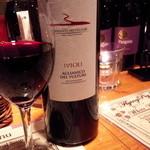 51134786 - 赤ワイン。アリアニコ種は珍しい