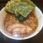 麺屋 優創 - 魚介味噌ラーメン+海苔