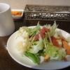 リーノ バンビーノ - 料理写真:サラダ盛り付け+ホットコーヒー 1605