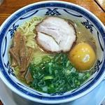 鴫野食堂 - 【純情中華そば + 味玉】¥600 + ¥100