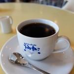 うみねこ - コーヒー(カップのうみねこがかわいい