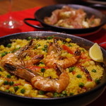Pio - 魚介と野菜のPaella