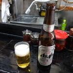 ひょうたん - 瓶ビール小370円(税込)