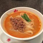 赤坂飯店 - 4500円コース  ハーフ担々麺  温いので猫舌ので方用!