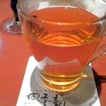 旬味美酒 松江駅前四季庵 - ホット烏龍茶
