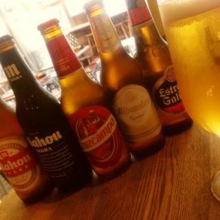 スペインビール全5種類!バレンシアサングリアも大人気!