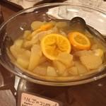 清泉寮新館レストラン - 林檎のコンポート