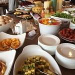 清泉寮新館レストラン - 朝食いろいろなお料理