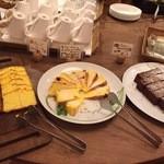 清泉寮新館レストラン - デザートのケーキいろいろ