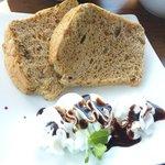 スハネフ14-1 - 紅茶とナッツのシフォンケーキ
