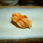 すし家 - 【にぎり】宮城の閖上(ゆりあげ)産の赤貝