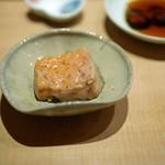すし家 - [つまみ]北海道噴火湾産のアンコウの肝