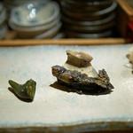 すし家 - [つまみ]北海道産の蒸し鮑