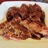 満腹リッチ - 料理写真:カルビ&ハラミ