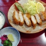 幸楽 - とんかつ定食900円
