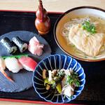 五葉寿し - 料理写真:そばランチ