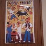 51143672 - 何かのポスターがトイレに。