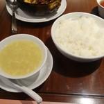 翠蓮 CHINESE RESTAURANT - ライス、スープ