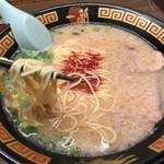 一蘭 - 細麺