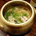銀しゃりDining灯戸 - 穴子と筍の釜飯