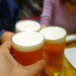 アマイカ - ビールで乾杯♪