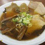 中華そば ひらこ屋 - 自家製麺 中華そばのアップ