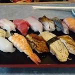 立ち寿司 まぐろ一徹 - おまかせ12貫