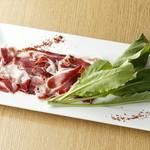 エロうま野菜と肉バル カンビーフ - 最高級イベリコ豚の生ハム!