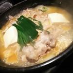 坐・和民 - イベリコ豚のチゲ鍋が煮えました(2016.05.17)