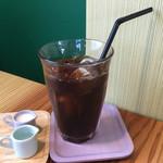 まめなカフェ - 【2016.5】ランチドリンクはアイスも選択可