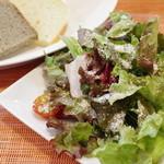 (La Fabbrica Della Pasta) Quel - ランチのサラダとパン