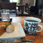 サクラ - 料理写真:アップルパイ&コーヒー