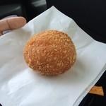 からりパン工房 - カレーパン/甘(220円)