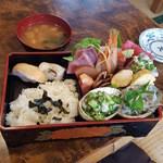 菊寿司 - 海鮮丼1100円税込