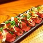 宮古牛の特上炙り寿司(5貫)