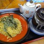 梅公 - 味噌温つけ麺