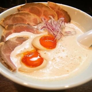 中華蕎麦 葛 - 料理写真:あわい蕎麦【塩】 特上