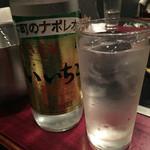 和加家 - いいちこボトル。